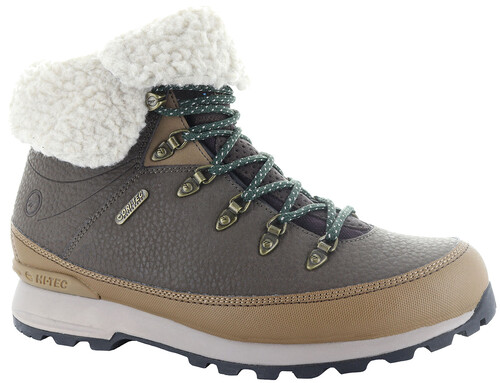 Hi-Tec Kono Espresso I WP Shoes Women Chocolate/Honey/Olive Night 36 2017 Trekking- & Wanderschuhe A3aLG